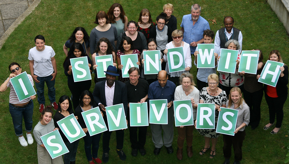 I stand with survivors