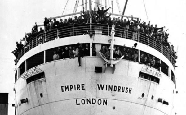 Windrush Generation on a boat
